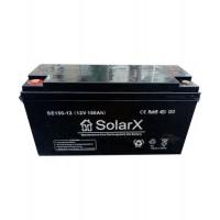 Гелевый аккумулятор SolarX SE150-12