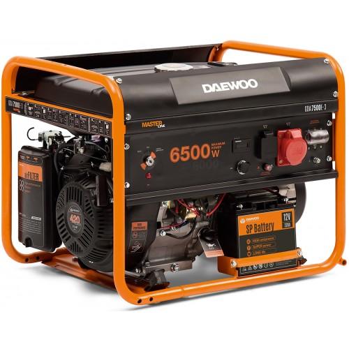 Бензиновый электрогенератор Daewoo GDA 7500E-3