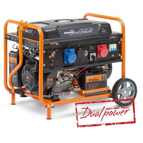 Бензиновый электрогенератор Daewoo GDA 8500DPE-3 (Двухрежимный 380/220В)