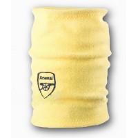 Флисовый горловик бафф Арсенал односторонний желтый