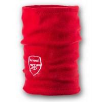 Флисовый горловик бафф Арсенал односторонний красный