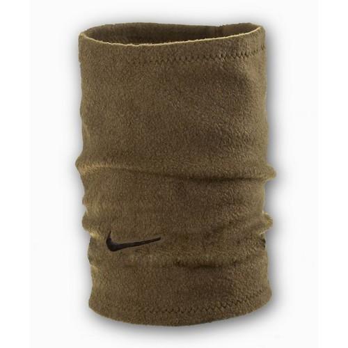 Флисовый горловик бафф Nike односторонний хаки