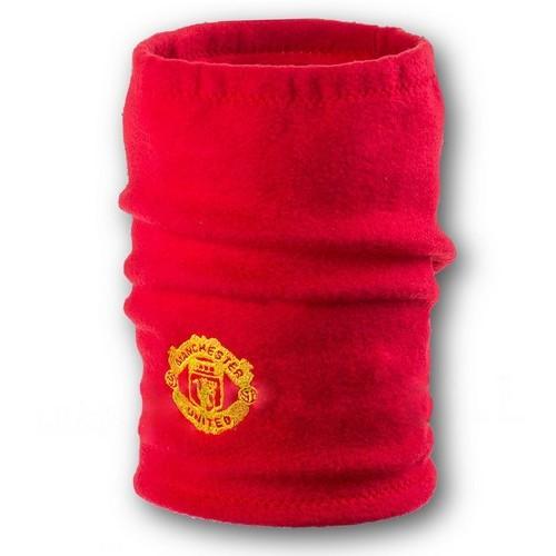 Флисовый горловик бафф Манчестер Юнайтед односторонний красный