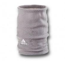 Флісовий горловик баф Adidas односторонній сірий