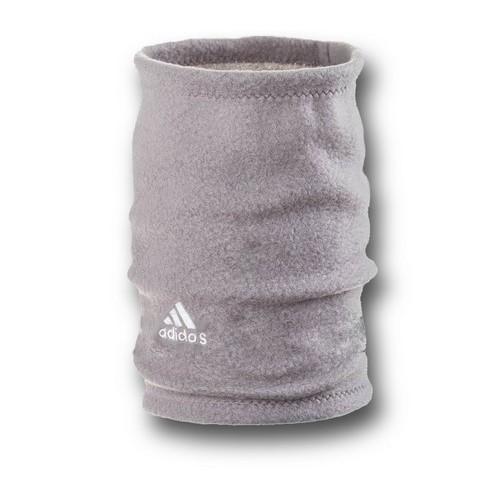 Флисовый горловик бафф Adidas односторонний серый