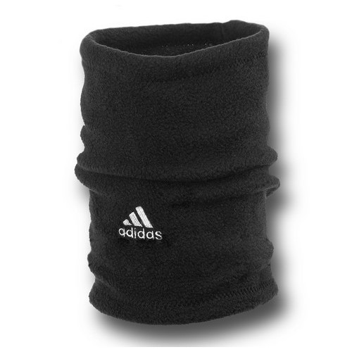 Флисовый горловик бафф Adidas односторонний черный