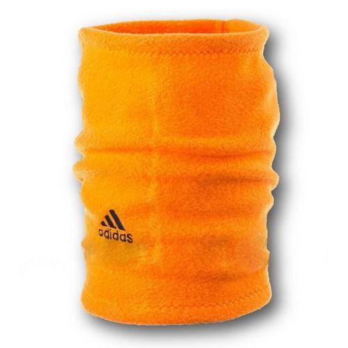 Флисовый горловик бафф Adidas односторонний оранжевый