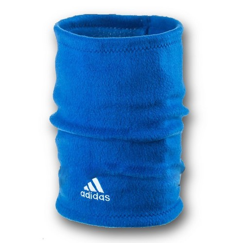 Флисовый горловик бафф Adidas односторонний синий электрик
