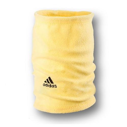Флисовый горловик бафф Adidas односторонний желтый