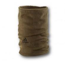 Флисовый горловик бафф Adidas односторонний хаки