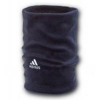 Флисовый горловик бафф Adidas односторонний темно синий