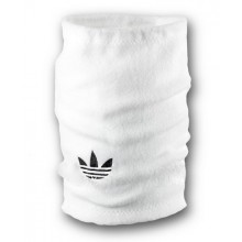 Флісовий горловик баф Adidas original односторонній білий