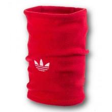 Флісовий горловик баф Adidas original односторонній червоний