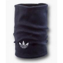 Флисовый горловик бафф Adidas original односторонний темно-синий