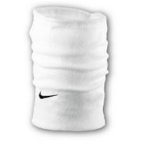 Флисовый горловик бафф Nike односторонний белый
