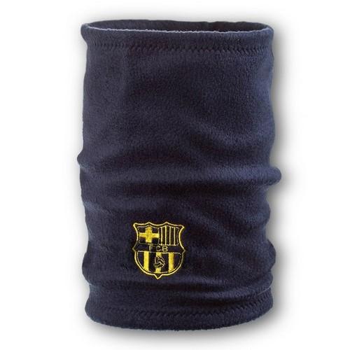 Флисовый горловик бафф Барселона односторонний темно-синий