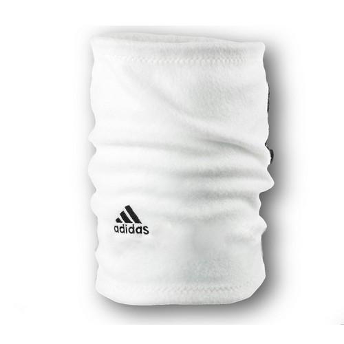 Флисовый горловик бафф Adidas односторонний белый