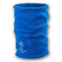 Флисовый горловик бафф Лига чемпионов односторонний синий электрик