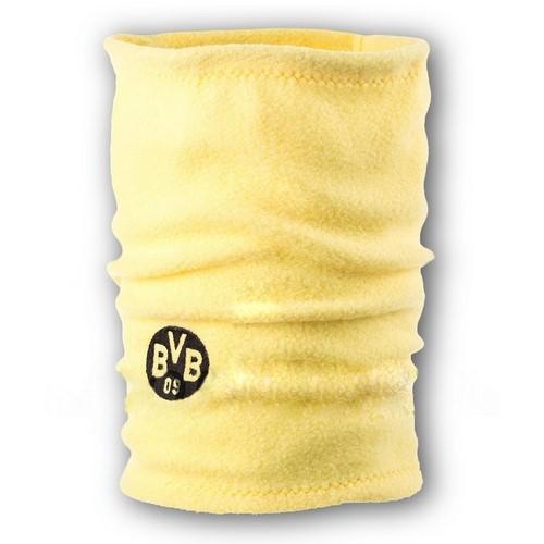 Флисовый горловик бафф Боруссия односторонний желтый