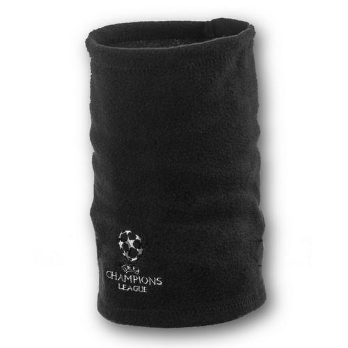 Флисовый горловик бафф Лига чемпионов односторонний черный