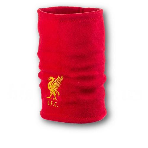 Флисовый горловик бафф Ливерпуль односторонний красный