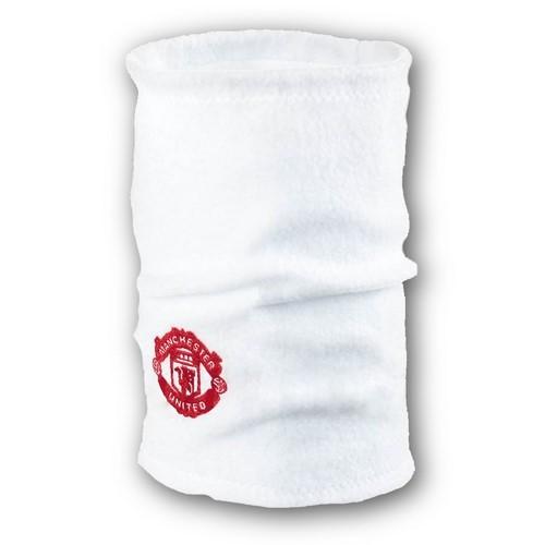 Флисовый горловик бафф Манчестер Юнайтед односторонний белый