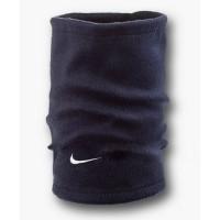 Флисовый горловик бафф Nike односторонний темно-синий
