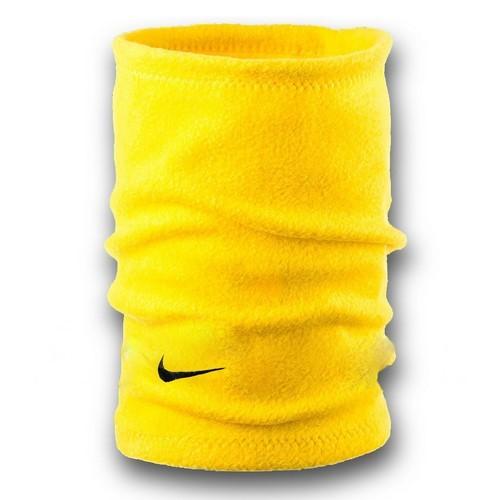 Флисовый горловик бафф Nike односторонний желтый
