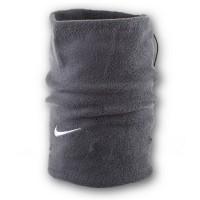 Флисовый горловик бафф Nike односторонний серый