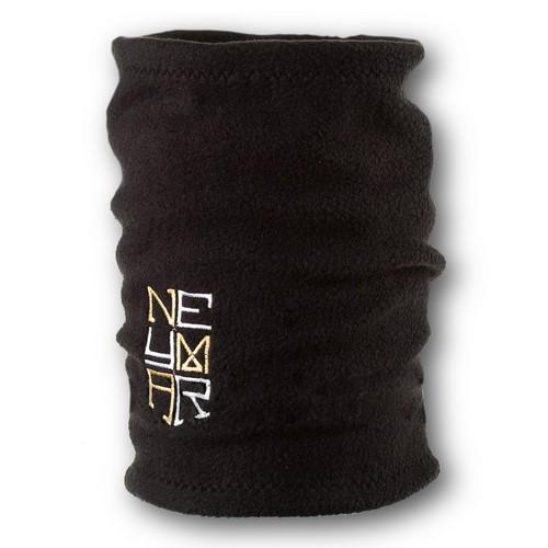 Флисовый горловик бафф Неймар односторонний черный