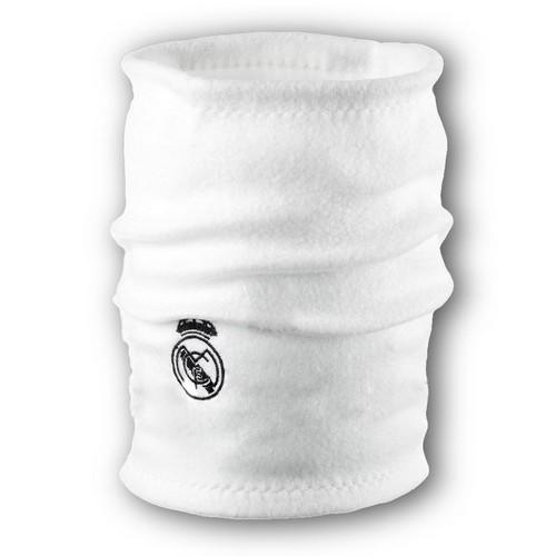 Флисовый горловик бафф Реал Мадрид односторонний белый