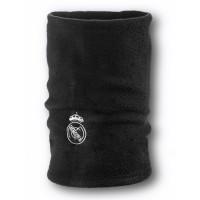 Флисовый горловик бафф Реал Мадрид односторонний черный