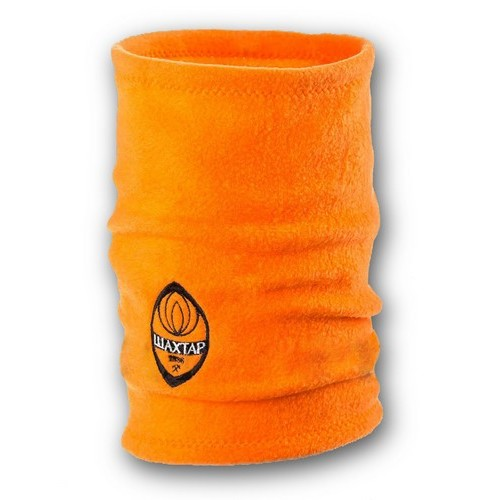 Флисовый горловик бафф Шахтер односторонний оранжевый