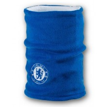 Флисовый горловик бафф Челси двусторонний сине-белый