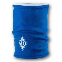 Флисовый горловик бафф Динамо Киев двусторонний сине-белый
