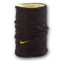 Флисовый горловик бафф Nike двусторонний черно-желтый