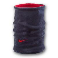 Флисовый горловик бафф Nike двусторонний сине-красный