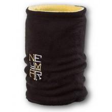 Флисовый горловик бафф Неймар двусторонний черно-желтый
