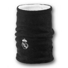 Флисовый горловик бафф Реал Мадрид двусторонний черно-белый
