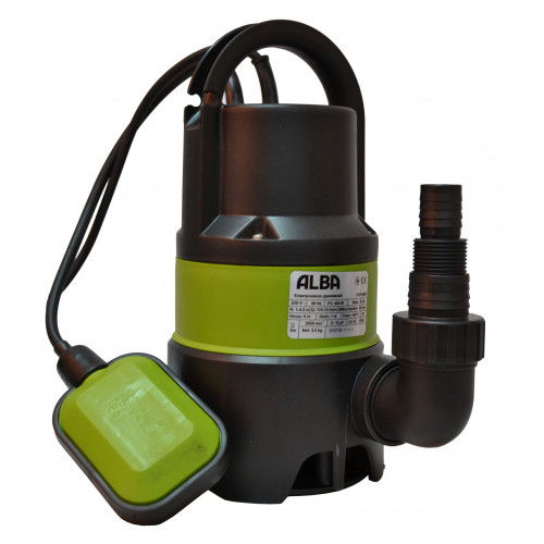 Насос ALBA PSP 400 F дренажный поливной с поплавком