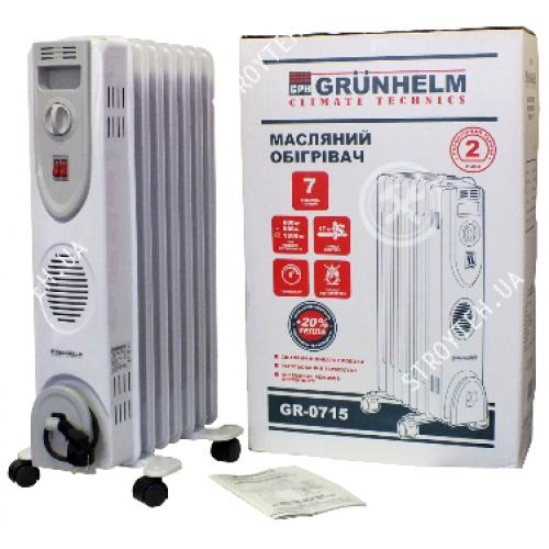 Масляный обогреватель Grunhelm GR-1125