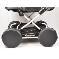 Чохли на прямі колеса для дитячої коляски