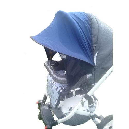 Дополнительный козырек на коляску солнцезащитный для любой коляски