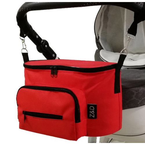 Сумка органайзер Z&D Smart Красная на любую коляску (Zdrowe Dziecko, Польша)