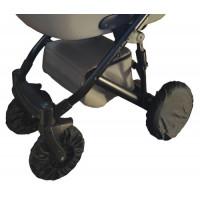 Набор чехлов на 4 колеса коляски PoLand поворотный комплект (спец. влагозащитное напыление, Польша)