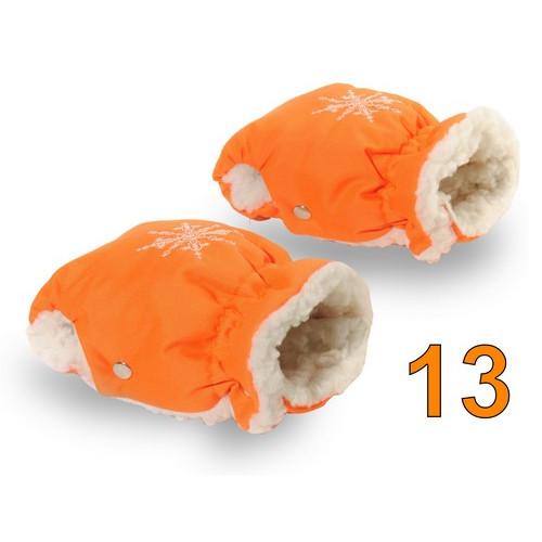 13 Муфта для коляски оранжевая