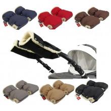 Муфти рукавички Zdrowe Dziecko (Z & D Польща) для рук мами на коляску на овчині зимові