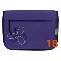 18 Сумка фиолетовая блестящая