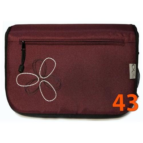 43 Сумка вишневая