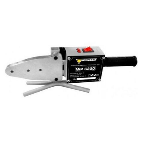 Паяльник для пластиковых труб Forte WP6320